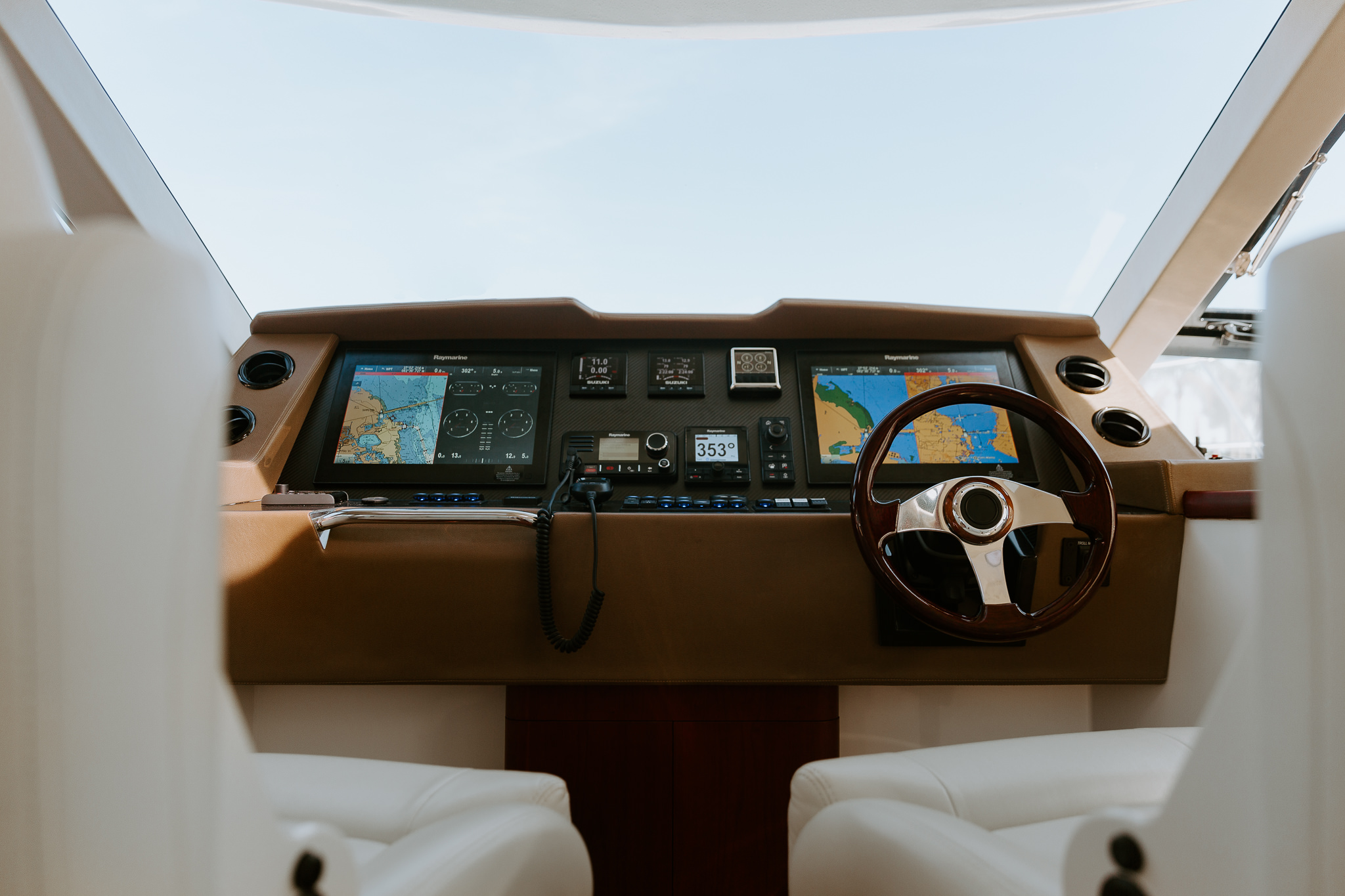 Helm of the boat